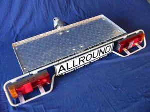 Allround Heckträger m.Transportplattf. 930 x360mm Typ UT für d. Anhängerkupplung AHK Lastenträger