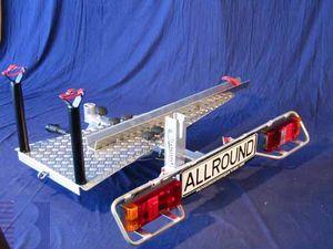 Allround Heckträger für Behinderten Dreirad Typ UT für d. Anhängerkupplung AHK Fahrradträger für Dreirad