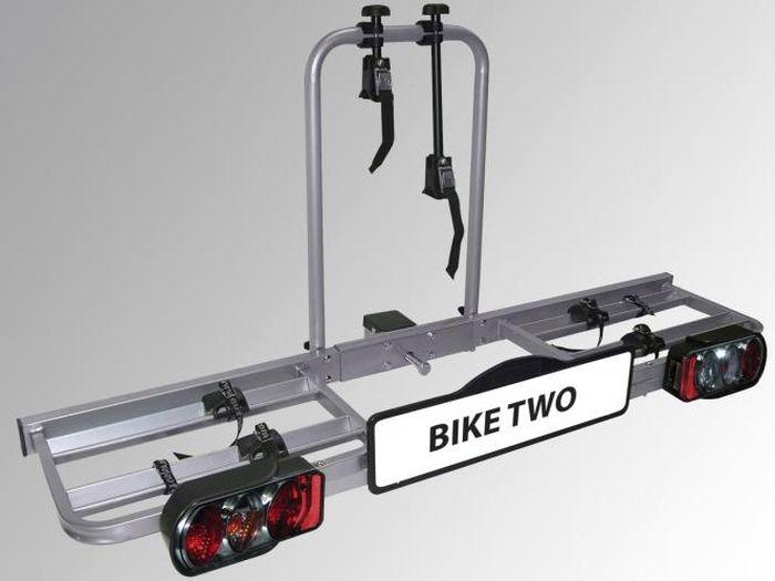 Fahrradträger eufab EAL  Bike Two für d. Anhängerkupplung AHK Fahrradträger für 2 Fahrräder