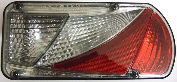 Beleuchtung- AJBA IV, Leuchte Lampe rechts, Rauchglas