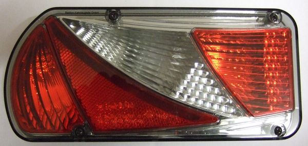 Beleuchtung- AJBA IV, Leuchte Lampe links, Rauchglas