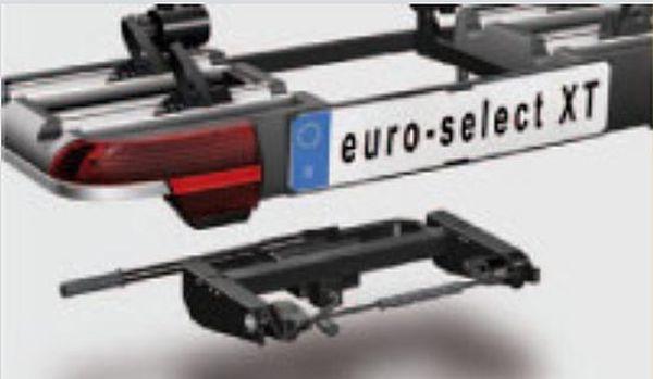 Fahrradträger MFT MULTI-CARGO euro - select XT für d. Anhängerkupplung AHK Fahrradträger für 2 Fahrräder