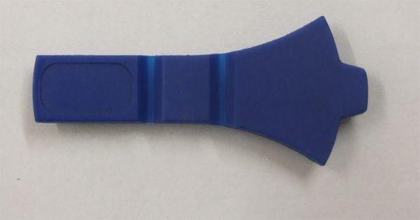 Abdeckung für Schloß ACS, 6er Ausführung blau