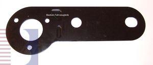 Steckdosenplatte für 2-Loch Flanschkugeln, Typ D