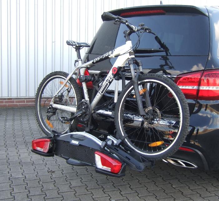 Fahrradträger THULE 924 Velo Compact für d. Anhängerkupplung AHK Fahrradträger für 2 Fahrräder