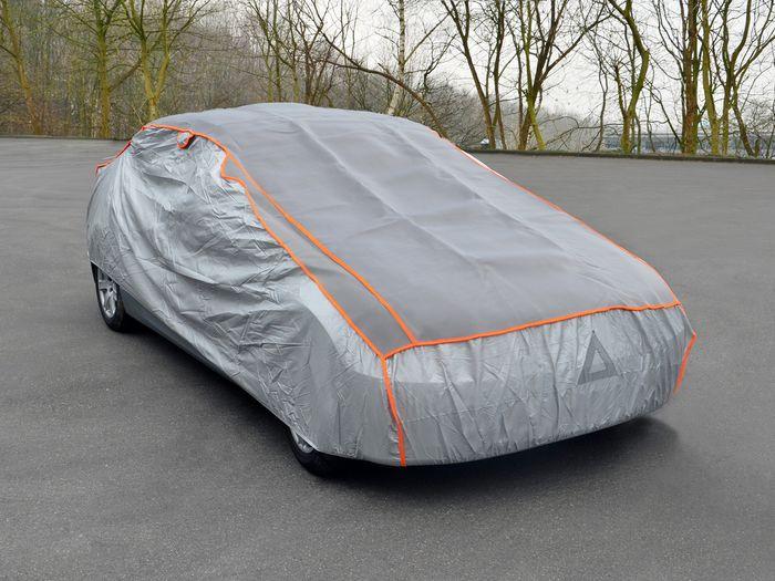 VW UP 5-T Fließheck Bj. 2012- Auto Schutzhülle-Hagelschutz, Basic