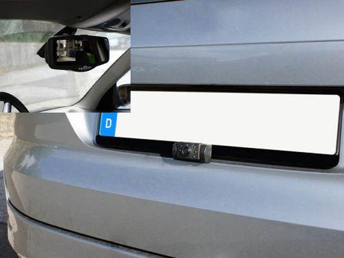 Rückfahrvideosystem im Spiegel, Rückfahrkamera