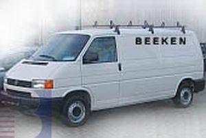 Körner Dachträger, Gewerbe Transporter für Renault Trafic hohes Dach, Bj. -2000