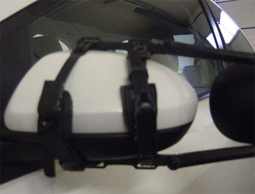 Mazda 2 Limousine Bj. 2007-2010 Quick Lock RK Reich Wohnwagenspiegel u. Caravanspiegel