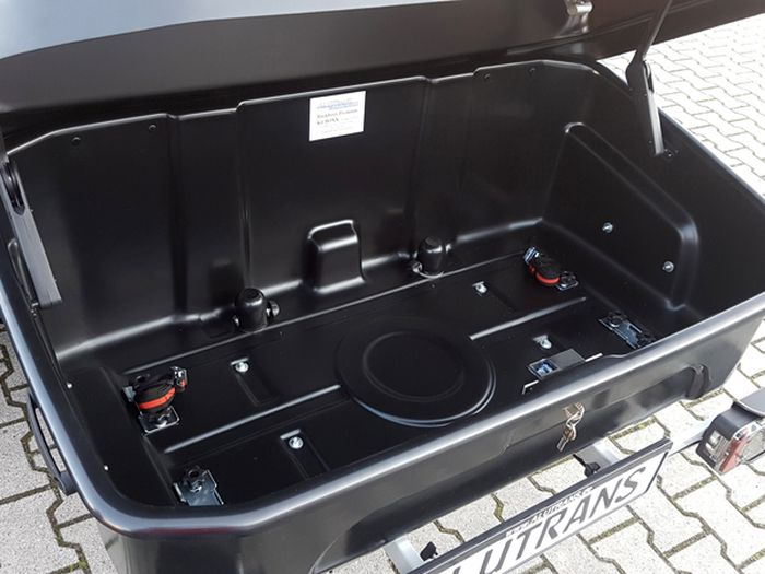 ALUTRANS BackBOXX Premium Kit BOX black edition