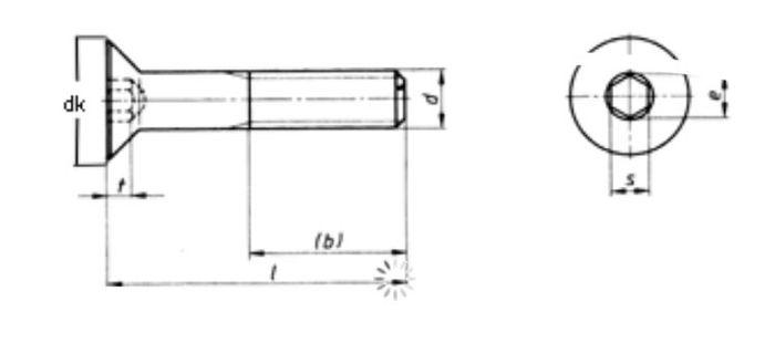 Wechselsytem Rockinger Variobloc Befestigungssatz, Senkkopf M10x110