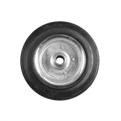 Ersatzrad für Stützrad Metall-Felge mit Vollgummi-Reifen 200x50mm