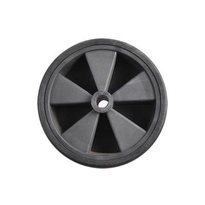 Ersatzrad für Stützrad Kunststoff-Felge mit Vollgummi-Reifen 220x75mm