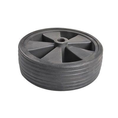 Ersatzrad für Stützrad Kunststoff-Felge mit Vollgummi-Reifen 220x75mm (5er Pack)