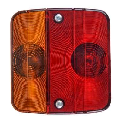 Schlussleuchte 4 Funktionen 98x104mm inkl. Glühbirne (108er Pack)