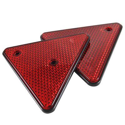 Rückstrahler Dreieck, rot, z. Schrauben, 2 Stück