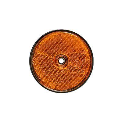 Seitenstrahler rund 60 mm, zum Schrauben, gelb (500er Pack)