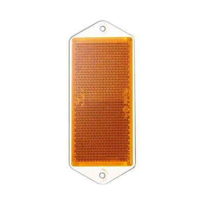 Seitenstrahler, eckig, 90x40 mm zum Schrauben, gelb (1000er Pack)