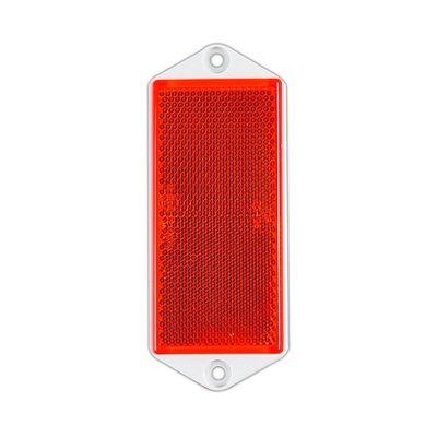 Rückstrahler, eckig, 90x 40mm, zum Schrauben, rot (1000er Pack)