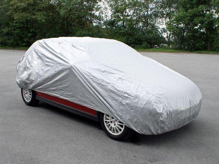 VW UP 3-T Fließheck Bj. 2012-2016 Auto Schutzhülle-Vollgarage, Basic