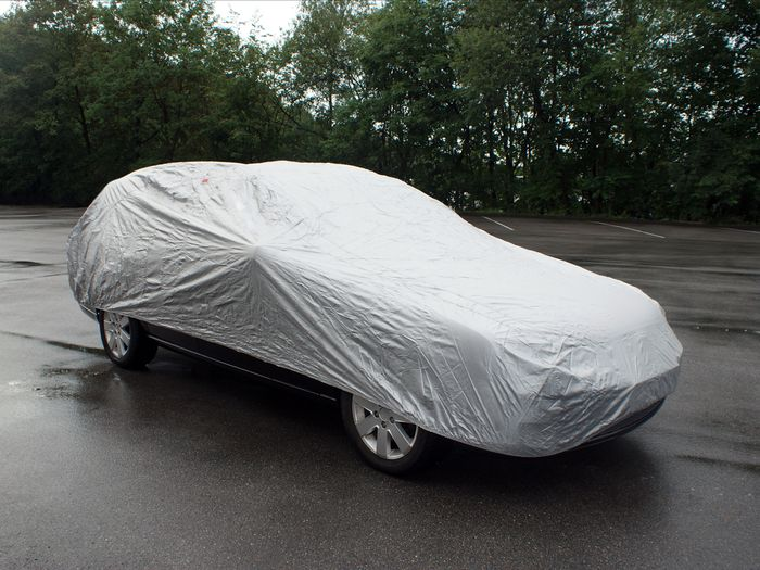 Mitsubishi Lancer EVO 4-T Limousine Bj. 2008- Auto Schutzhülle-Vollgarage, Basic