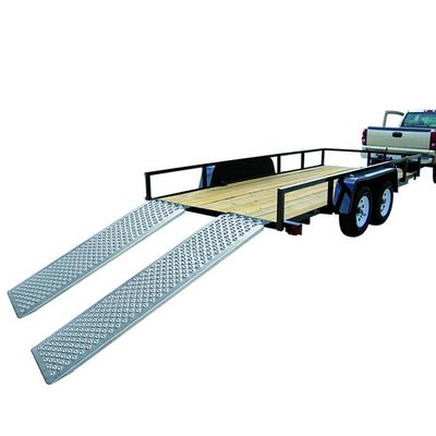 Auffahrrampe, Auffahrschiene Aluminium 183x25cm 500kg pro Stück (40er Pack)