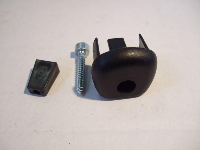 Ersatz - Endkappe für Relingträger, Fabbri Aluminium Universal