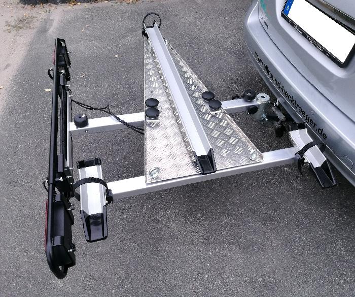 Allround Dreiradträger (z.B. Pfau Tec Scobo) Typ UT für d. Anhängerkupplung AHK Fahrradträger für Dreirad