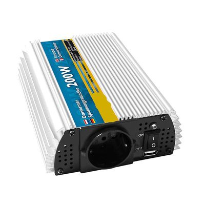Spannungswandler 12V-230V 200W/400W + USB