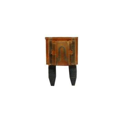 Sicherung, Flachstecksicherungen Mini 7,5A braun 6 Stück