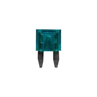 Sicherung, Flachstecksicherungen Mini 15A blau 6 Stück