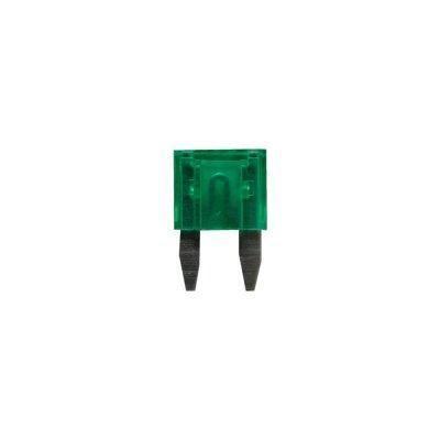 Sicherung, Flachstecksicherungen Mini 30A grün 6 Stück