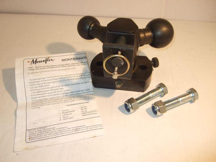 Maul- Kugelkupplung(90) Triplex/ Kugel 50/ 60 mm u. Maulkupplung (90)