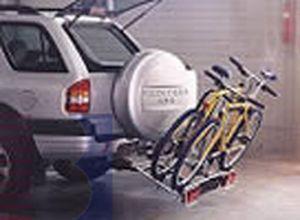 MFT MULTI-CARGO-family- Off- Road für d. Anhängerkupplung AHK Fahrradträger spez. für Geländewagen