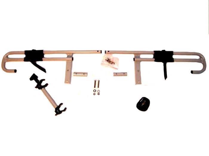 Aufrüstung auf den Transport v. 3 Fahrr. mft multi- cargo 2 family, schwarz