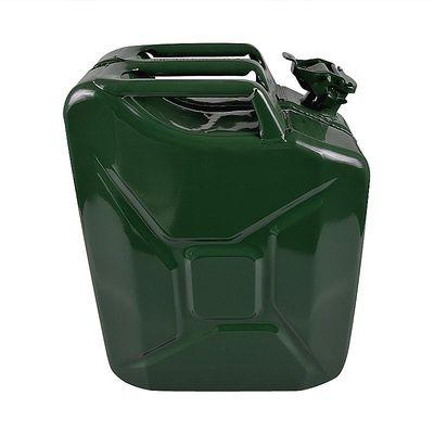 Benzinkanister 20L Metall grün UN-& TüV GS-geprüft (5er Pack)