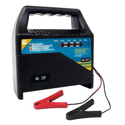 Batterie Ladegerät 12V 4Amp. (10er Pack)