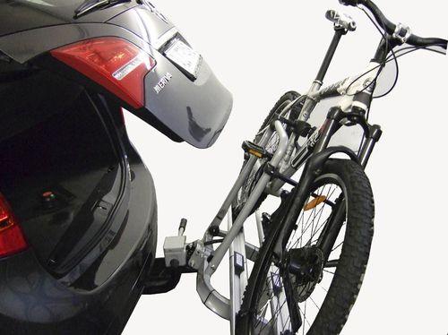Fahrradträger ALUTRANS ALUBIKE 2 -3F + unsere Empfehlung - f. AHK AHK Fahrradträger für 3 Fahrräder