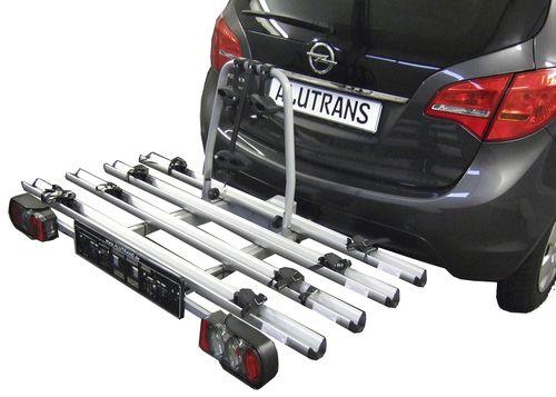 Fahrradträger ALUTRANS ALUBIKE 4- ++ Empfehlung ++ für d. Anhängerkupplung++ AHK Fahrradträger für 4 Fahrräder