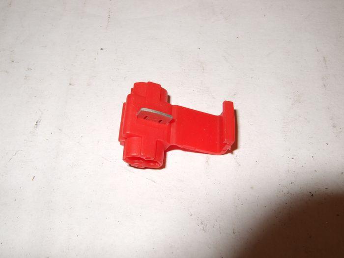 Abzweigverbinder, rot, Lieferumfang 1 Stk.