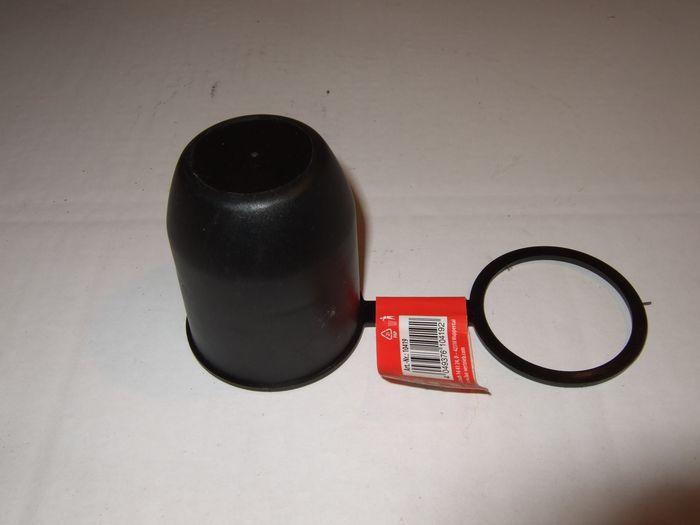 Kugelkappe mit Schlaufe, schwarz