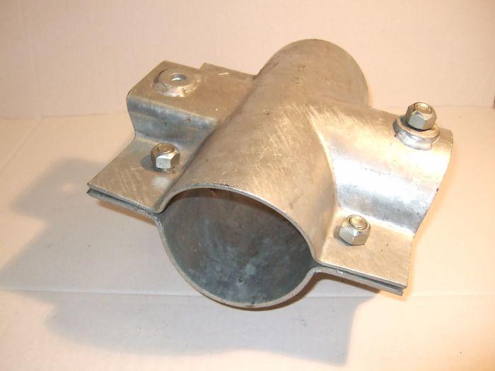 Klemmschalensatz mit Schrauben mit Einachs-Seilhalter ´´S´´, 103x70x102mm