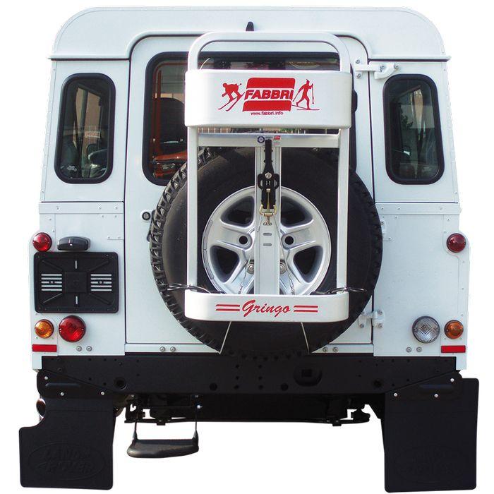 Honda CR-V, 5-T SUV Bj. 1996-2001, Fabbri Heckträger f. Ski für Heckträger für Honda Honda CR-V, 5-T SUV Bj. 1996-2001 Heckträger als Skiträger