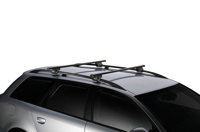 Thule Dachträger m. Stahlprofil f. VW Caddy Maxi Life, 5-T MPV Bj. 2015-, m. offener Reling