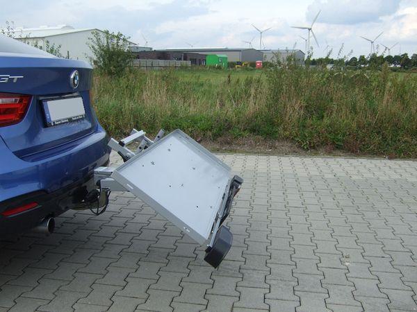 ALUTRANS BackBOXX Premium Komplettsystem Cargo für d. Anhängerkupplung AHK Lastenträger