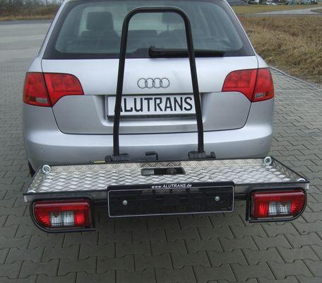 ALUTRANS Plattformträger ca. 1200 x 460mm für d. Anhängerkupplung AHK Lastenträger