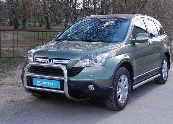 Frontschutzbügel Kuhfänger Bullfänger Honda CR-V 2007-2010, EuroBar 60mm Edelstahl