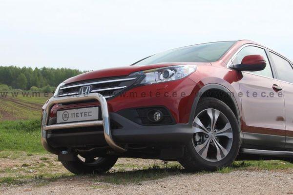 Frontschutzbügel Kuhfänger Bullfänger Honda CR-V 2013-2016, EuroBar 60mm Edelstahl