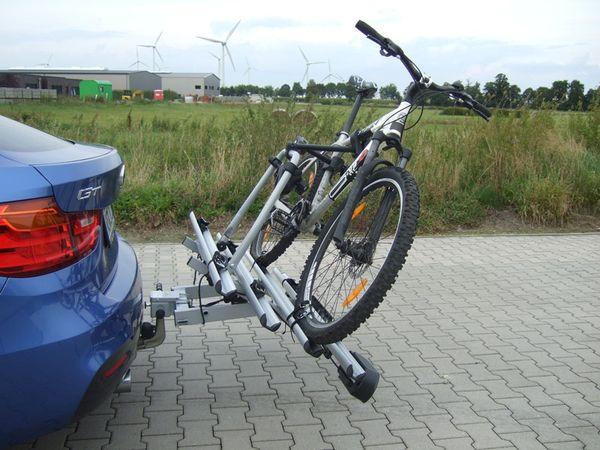 ALUTRANS BackBOXX Premium Komplettsystem Bike 4 für d. Anhängerkupplung AHK Fahrradträger für 4 Fahrräder
