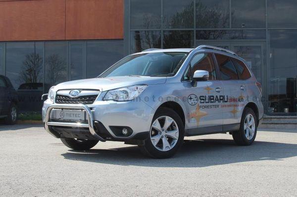 Frontschutzbügel Kuhfänger Bullfänger Subaru Forester 2013-, EuroBar 60mm Edelstahl
